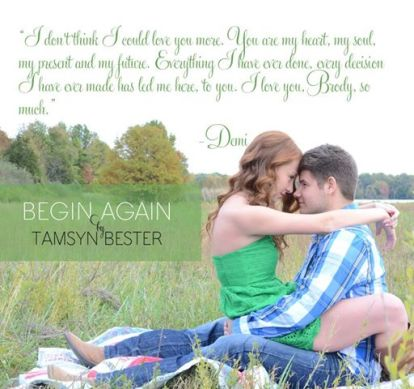Begin Again by Tamsyn Bester (1)