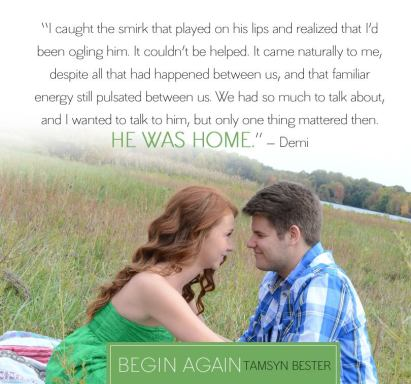 Begin Again by Tamsyn Bester (2)