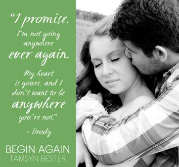 Begin Again by Tamsyn Bester