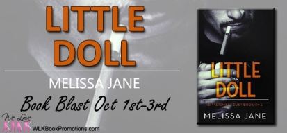 Little Doll blog tour banner