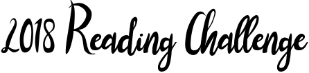 2018ReadingChallenge